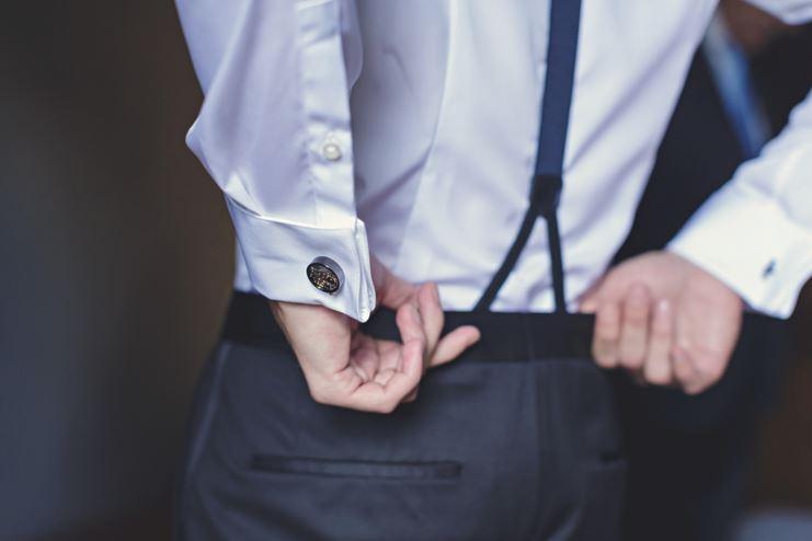suspensórios para utilizar no casamento