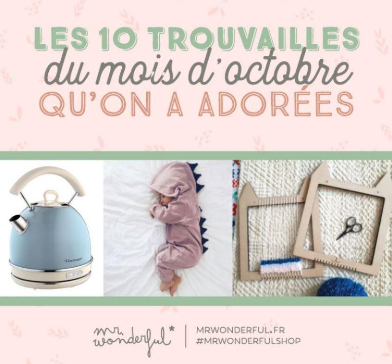 Que t'offrir de beau ce mois d'octobre? Inspire-toi de notre wishlist !