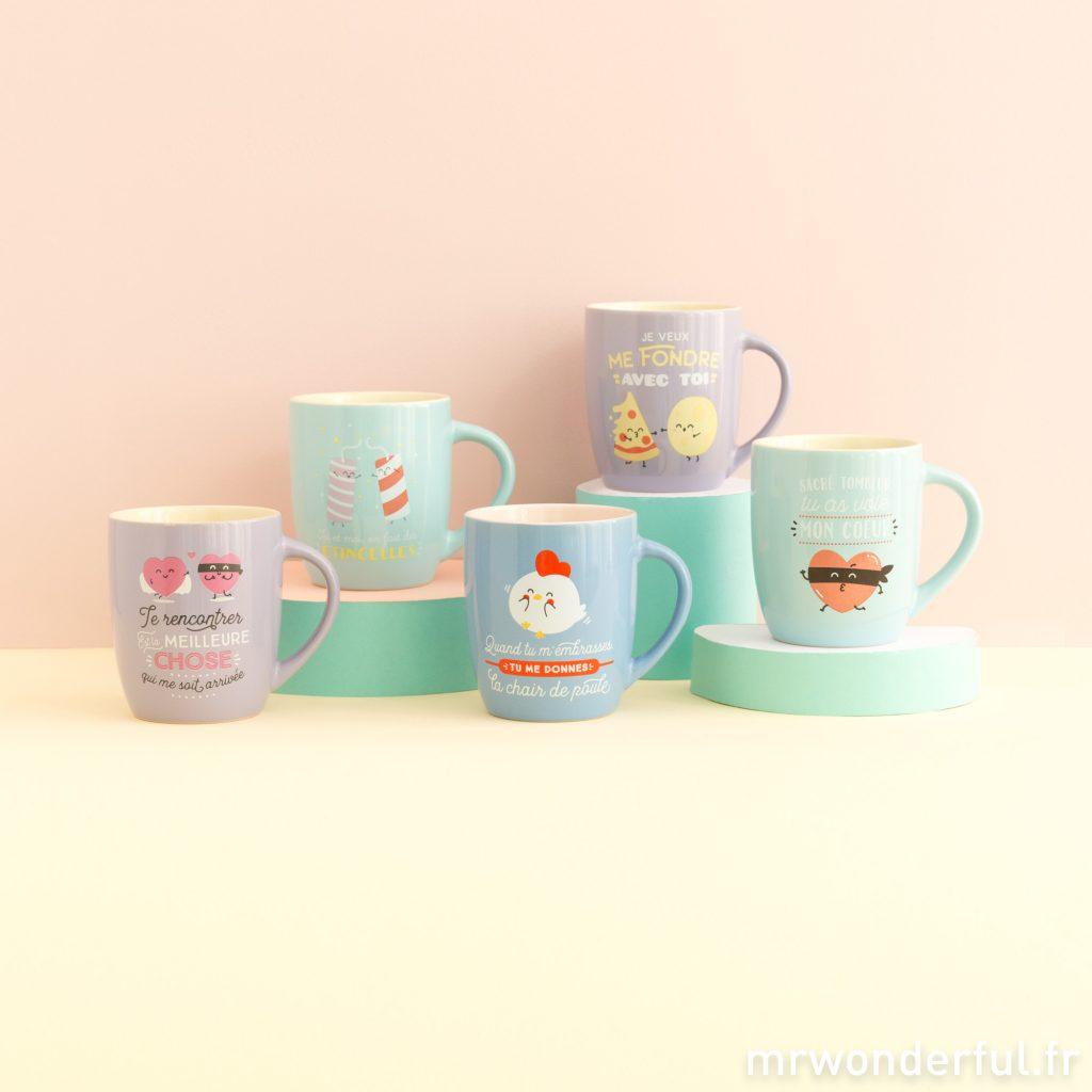 Ras le bol de ton vieux mug ? Passe à nos merveilleuses tasses amoureuses !