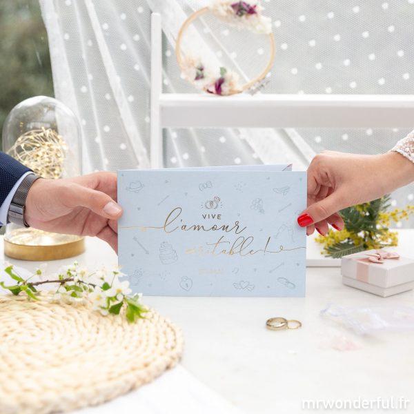 enveloppe mariage carte de félicitations cagnotte mariés