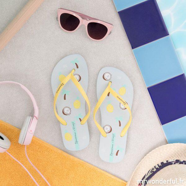 Tongs Ipanema Coconut Flow accessoires de plage Mr. Wonderful