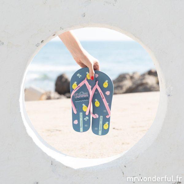 Palm Beach tongs Ipanema et Mr. Wonderful nouveautés été 2019