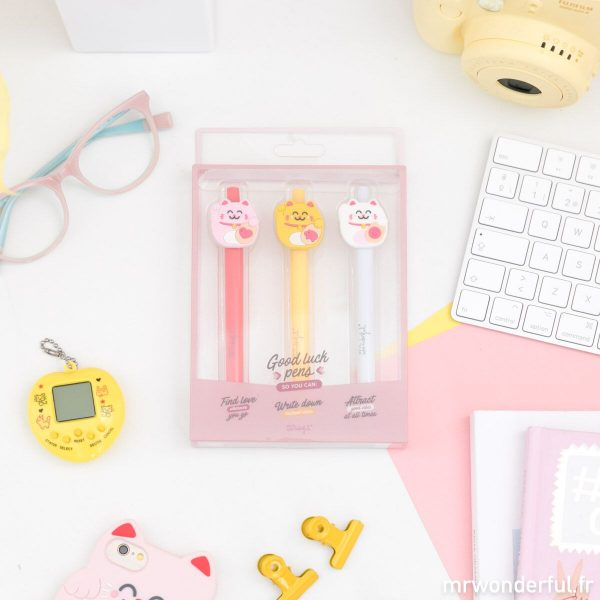 Stylos Mr. Wonderful Lucky Collection porte bonheur chinois