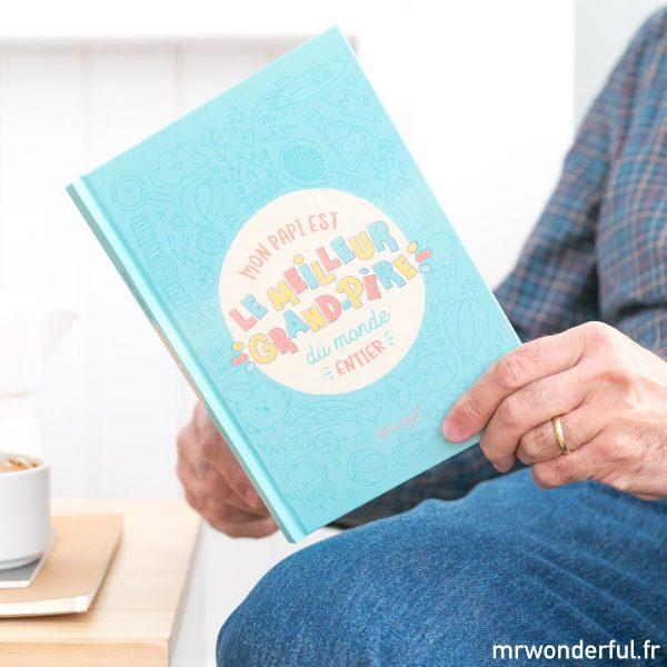 cadeau famille mr. wonderful livre personnalisé grand-père