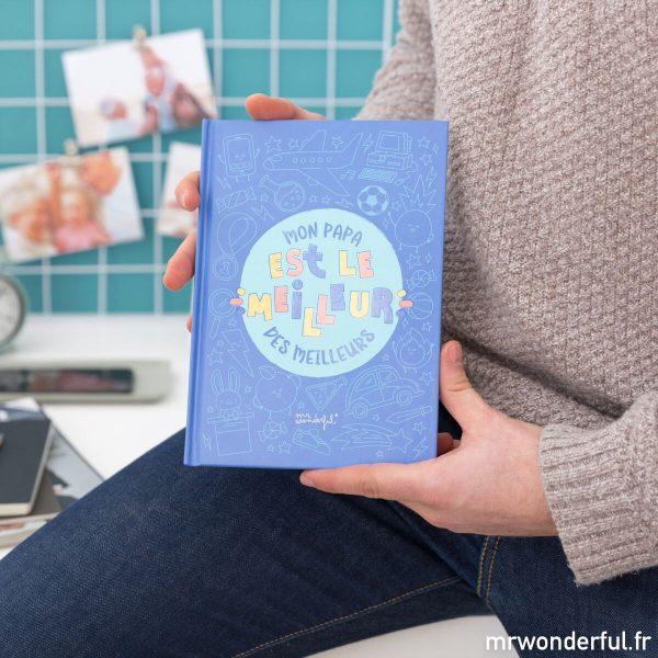 Cadeau original DIY livre personnalisé Mr. Wonderful cadeau papa