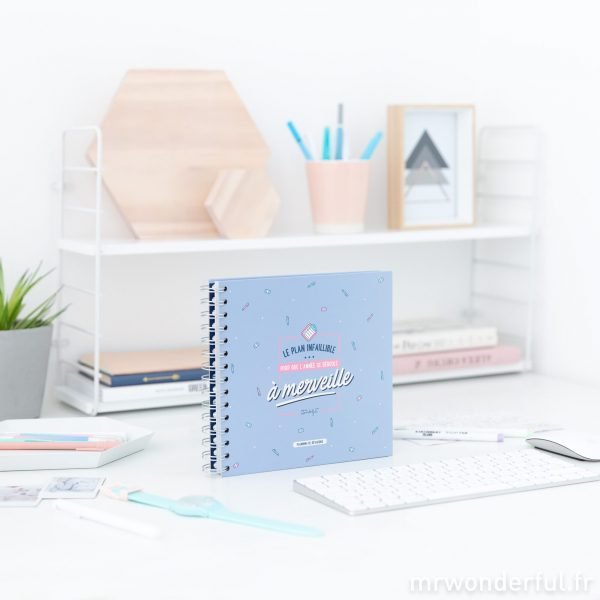 Planning de révisions Mr. Wonderful emploi du temps