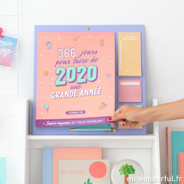 Mr. Wonderful nouveau calendrier 2020 sketch
