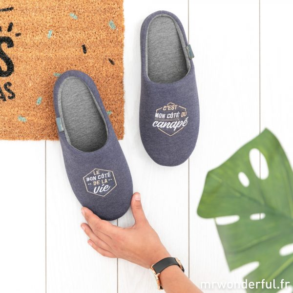 Chaussons pour homme Mr. Wonderful Mister Collection