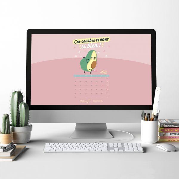 fond d'écran août mr wonderful ordinateur