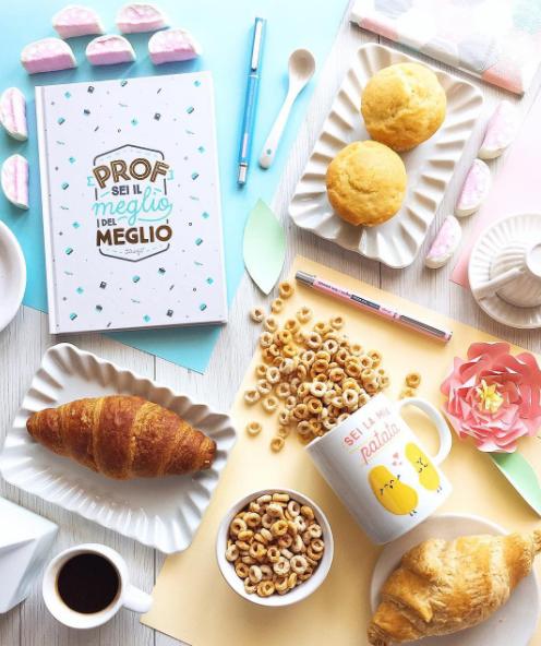 Colazione creativa con prodotti Mr. Wonderful