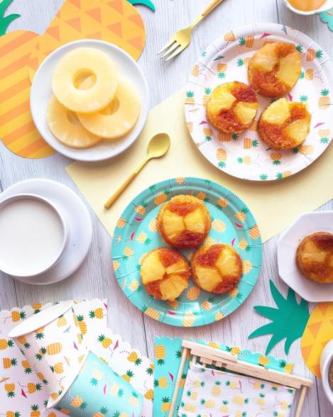 Colazione con ananas