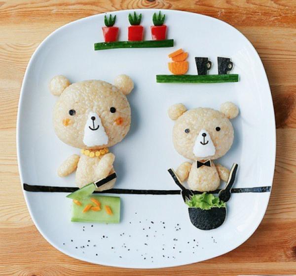 Piatti creativi per bimbi