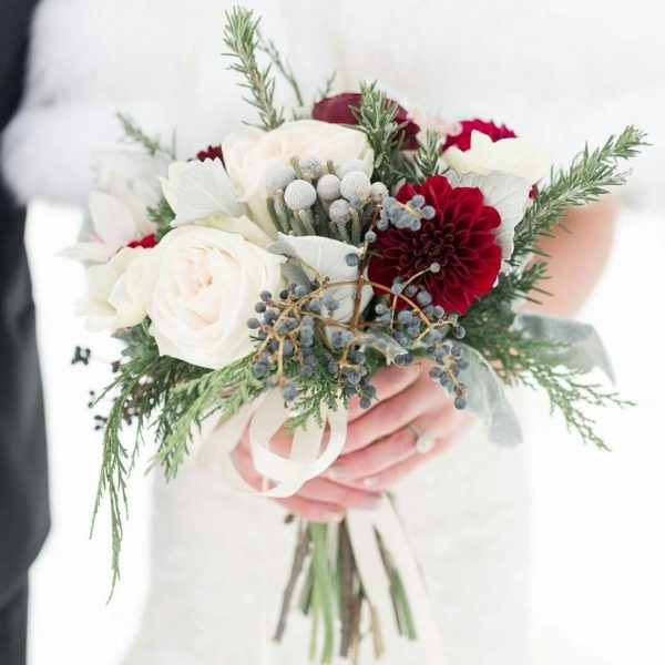 Bouquet Sposa Invernale.Il Bouquet Ideale Per La Sposa Invernale Il Blog Di Mr Wonderful