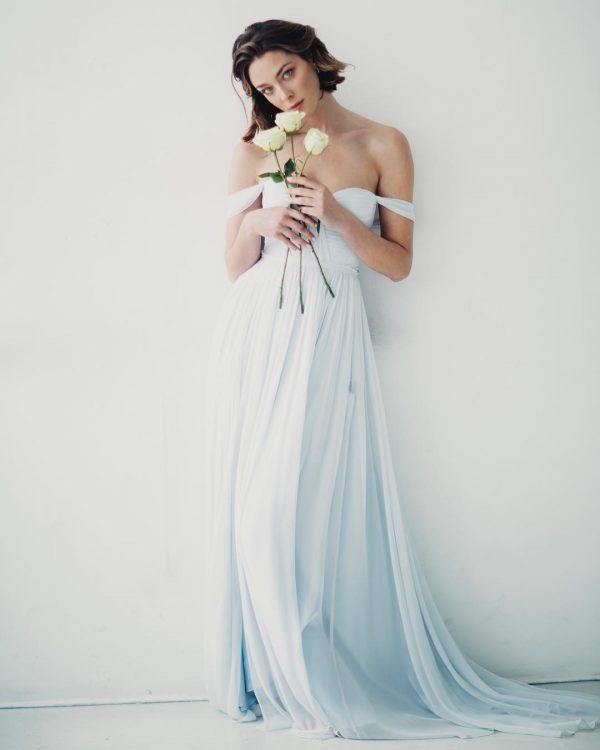 Vestiti Da Sposa Azzurri.Sposa Colorata Sposa Fortunata Il Blog Di Mr Wonderful