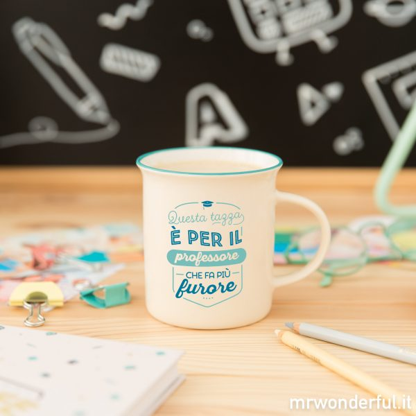 Tazza per un professore mr. wonderful 2019