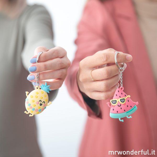 regali per amiche set coppia portachiavi abbinati coordinati idea regalo migliore amica originale divertente