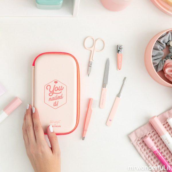 set completo manicure kit pedicure segreti di bellezza beter