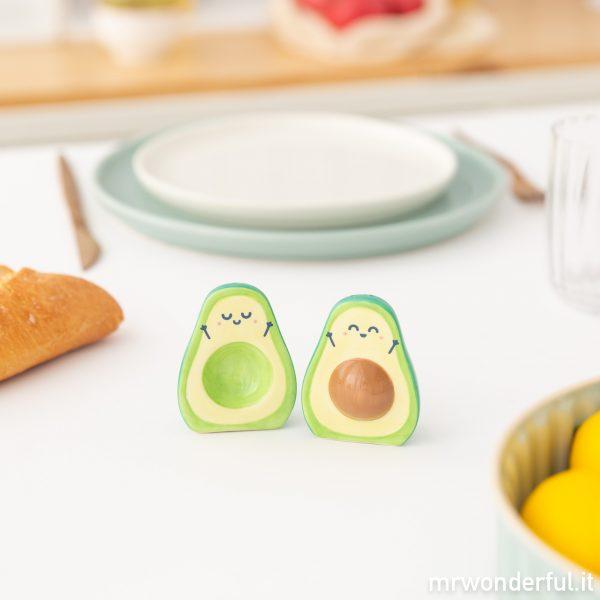 set sale pepe ceramica avocado accessori da cucina