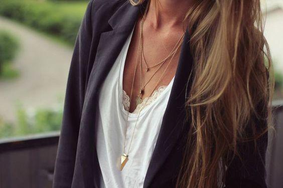 Refresca o teu look com os colares em cascata!