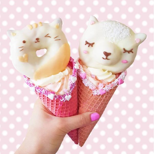 Descobrimos os donuts mais adoráveis do Instagram! Delicia-te!