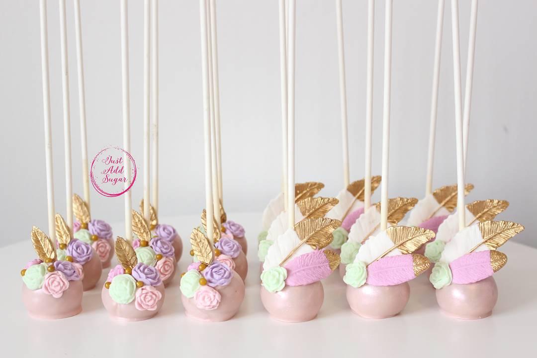 Deliciosos cake pops