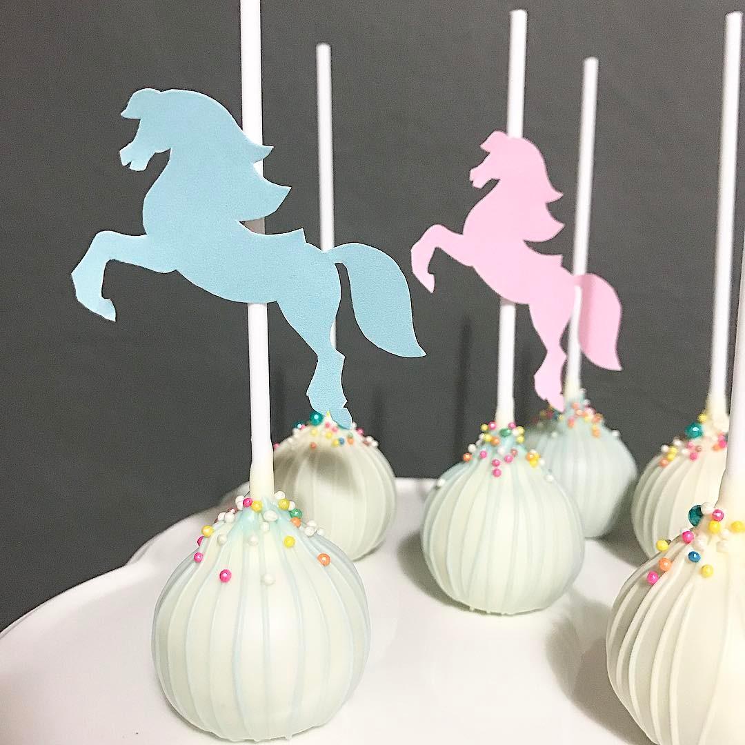 Cake pops para festas infantis