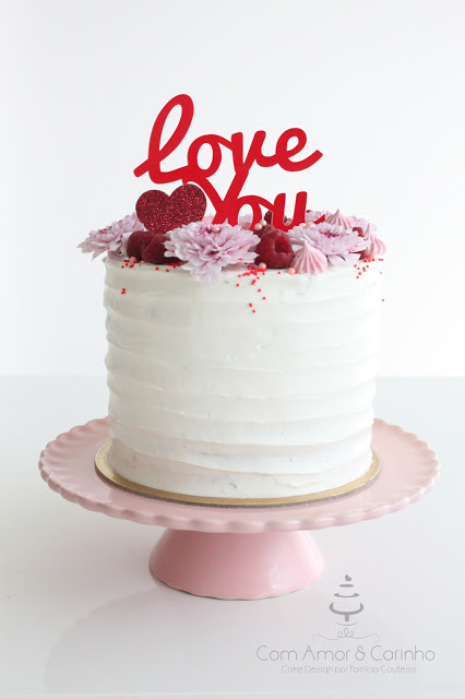 Love You - Red Velvet com Cream Cheese