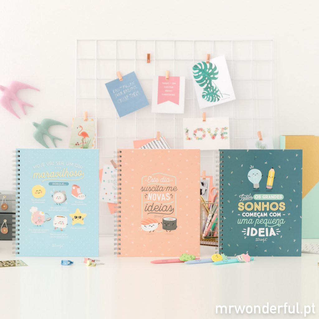 Porque tu mereces mais surpresas: novidades Mr. Wonderful de última hora! Yeyyy!