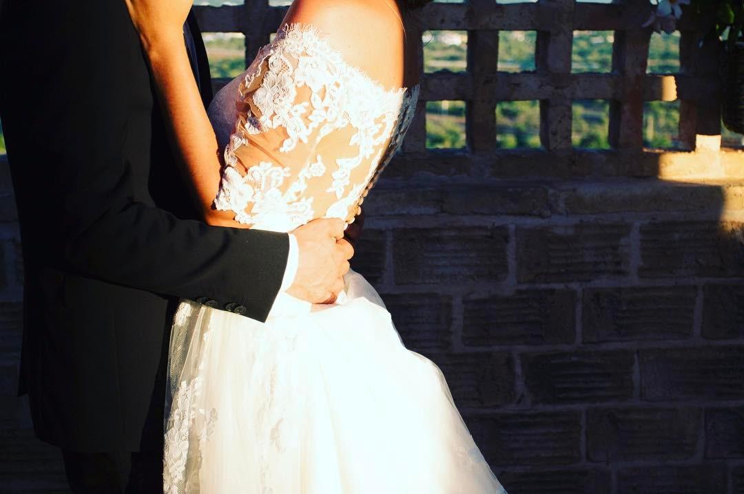 Detalhes de vestidos de casamentos