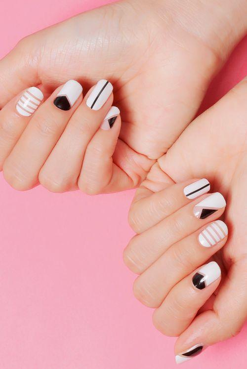 Mais um post sobre a última moda da manicure! Já em histeria? Calma, que não convém roer as unhas!