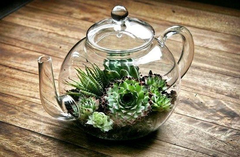 Reutilizar objetos de vidro