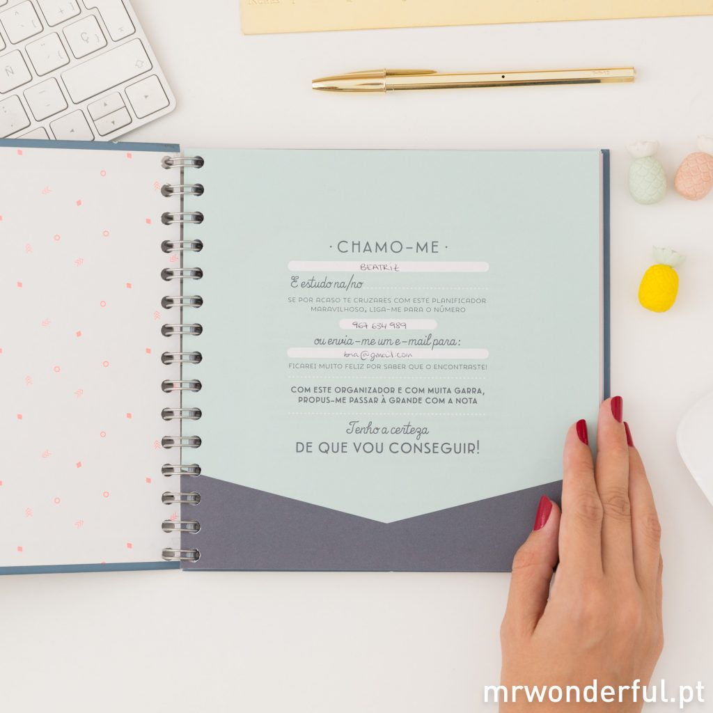 Organiza o teu estudo