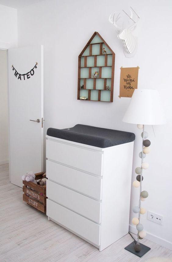 Decoração quarto para bebé