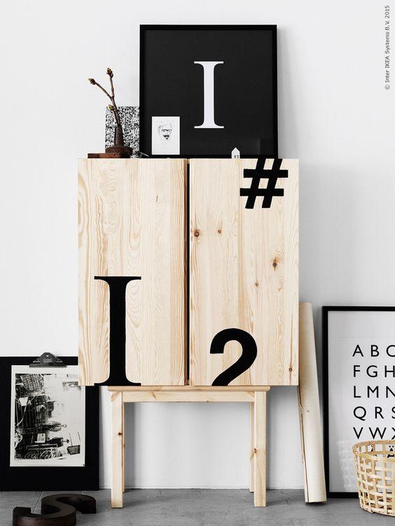 DIY móveis de decoração