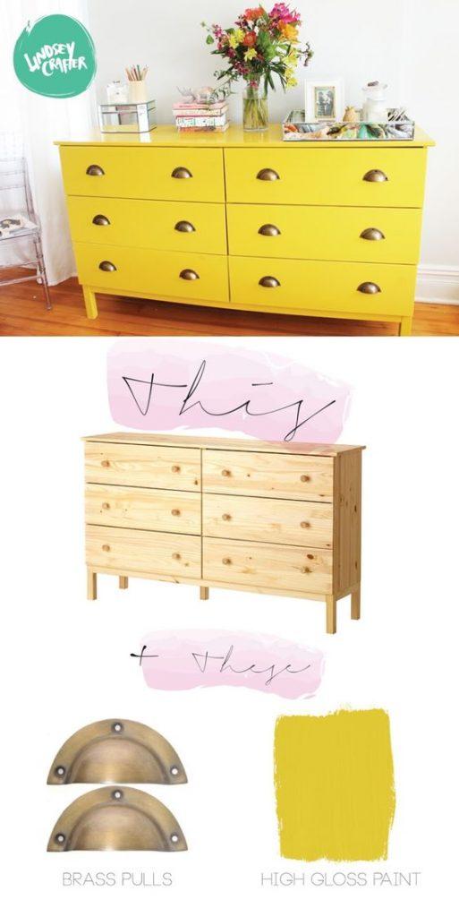 Restauração móveis IKEA