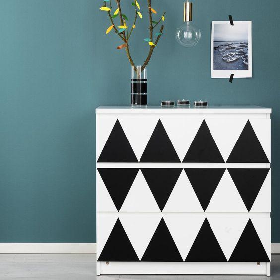 cómoda IKEA branca básica personalizada