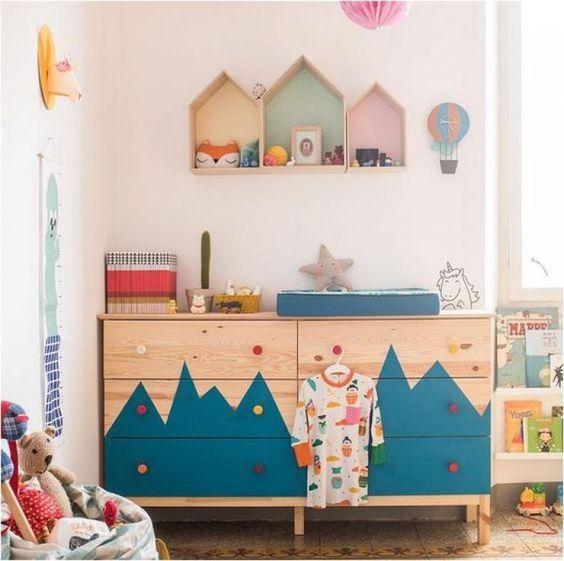 Criatividade decoração quarto infantil