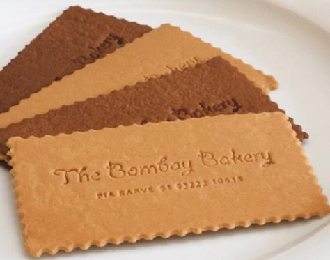 Ideias de cartões de visita para pastelarias
