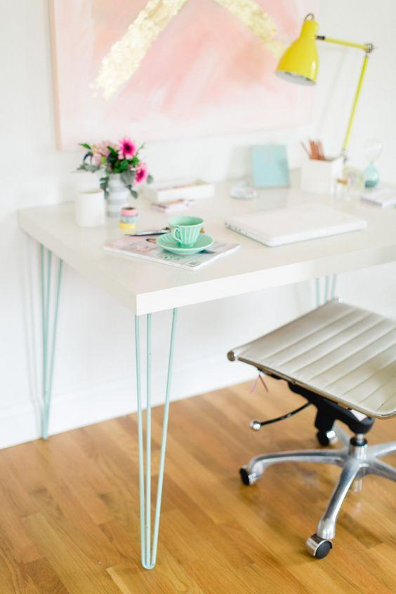 Decoração suave para escritório