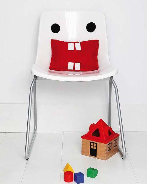 cadeira personalizada para crianças
