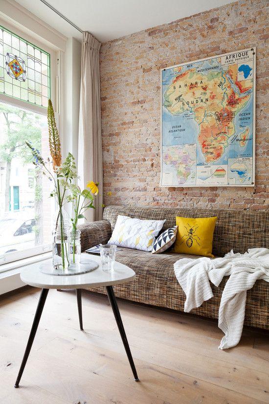 Viajar recicla a alma e também a tua casa! Entra a bordo e dá uma nova vida aos teus mapas!