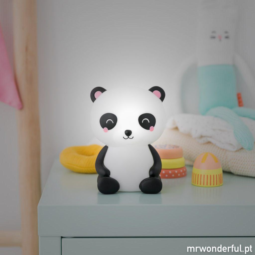 Luz para afastar o medo dos bebés