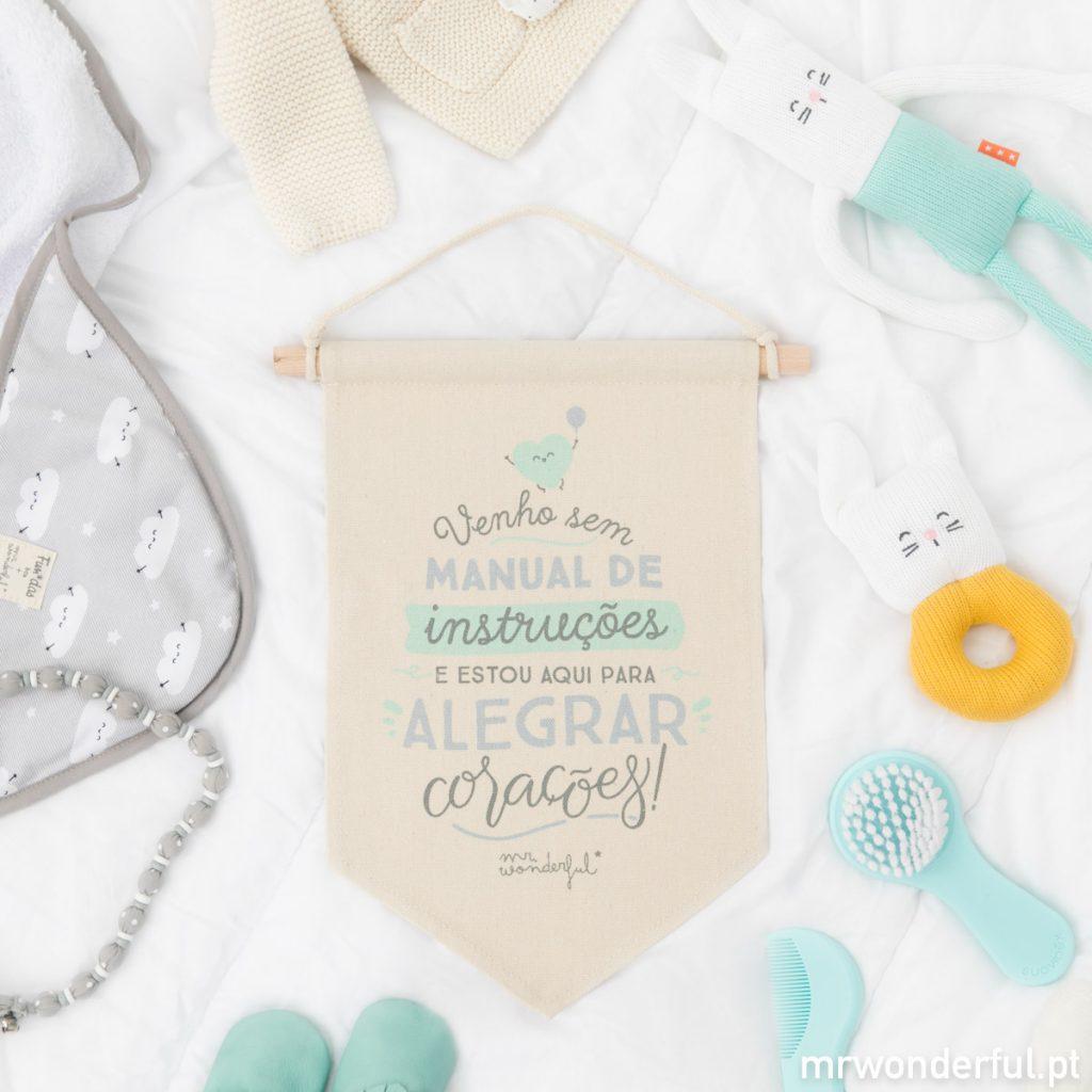 Objetos decorativos para quarto de bebé