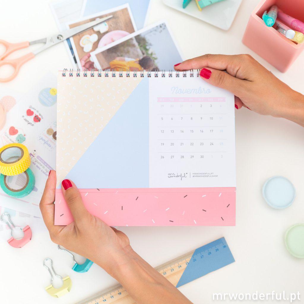 Faz o teu próprio calendário