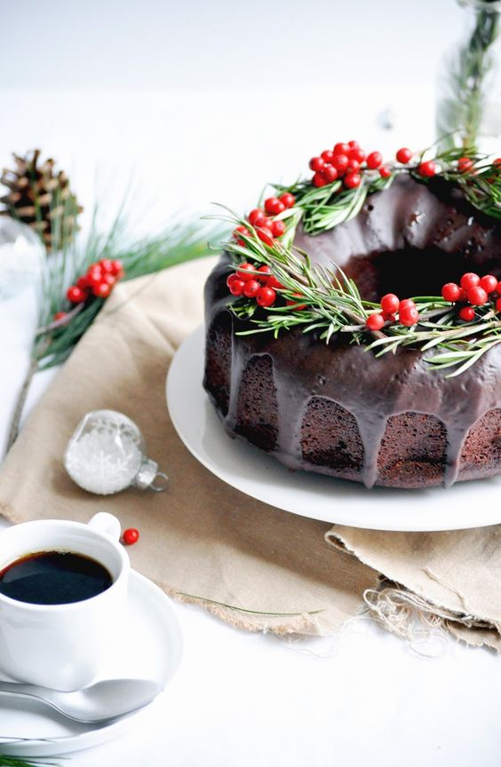 Deliciosas ideias para decorar os teus bolos de Natal