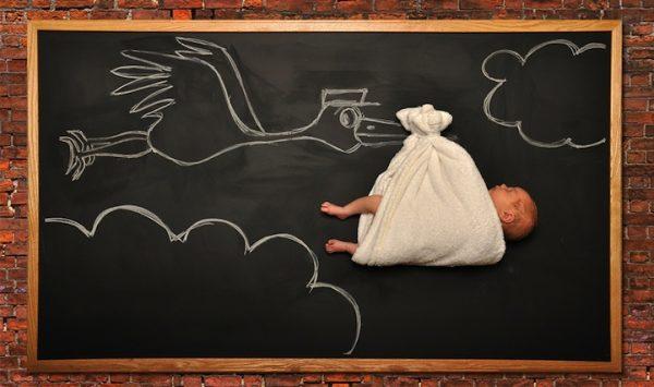 Ideias de fotos originais desde a gravidez até ao primeiro ano do bebé