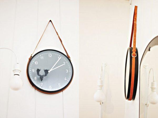 cinto e relógio