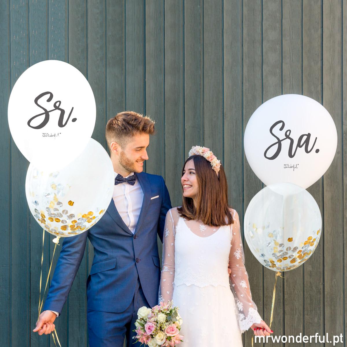 balões casamento