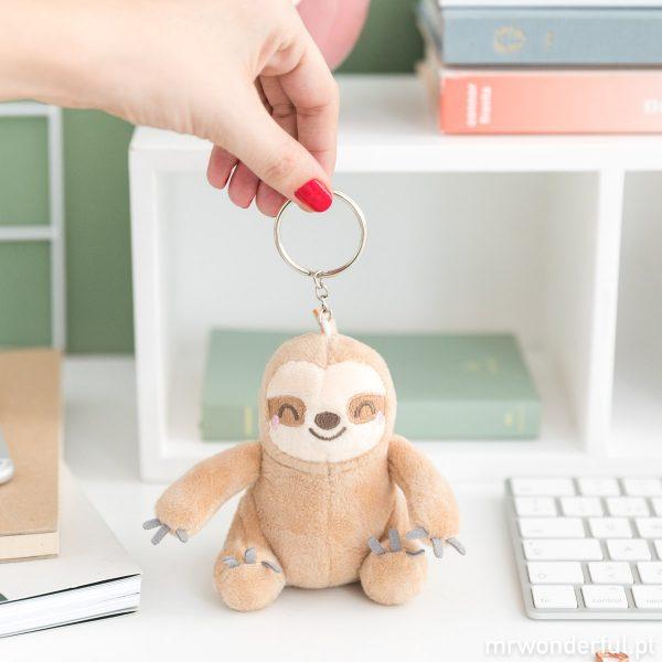 porta-chaves preguiça mr wonderful