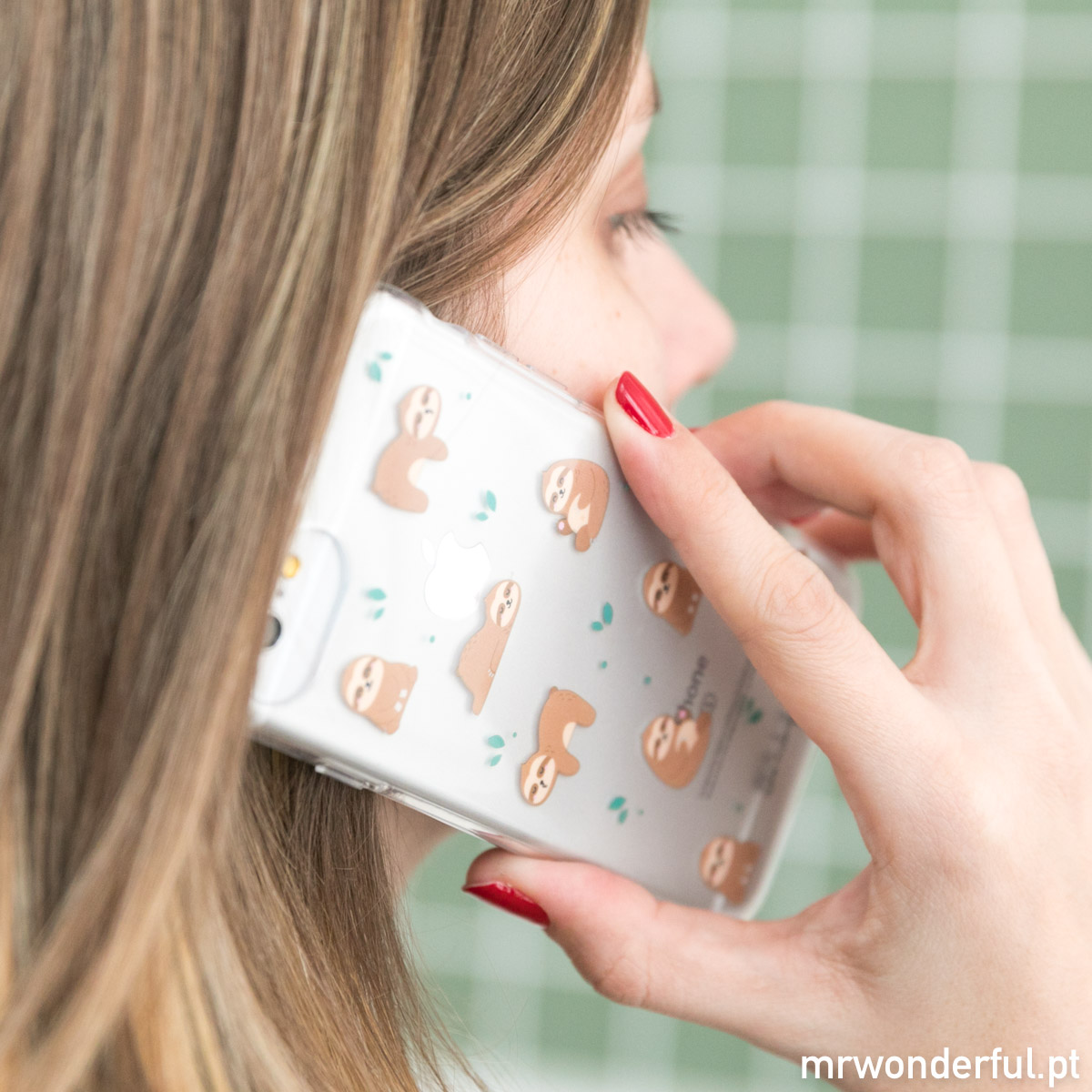 capa iphone preguiça mr wonderful